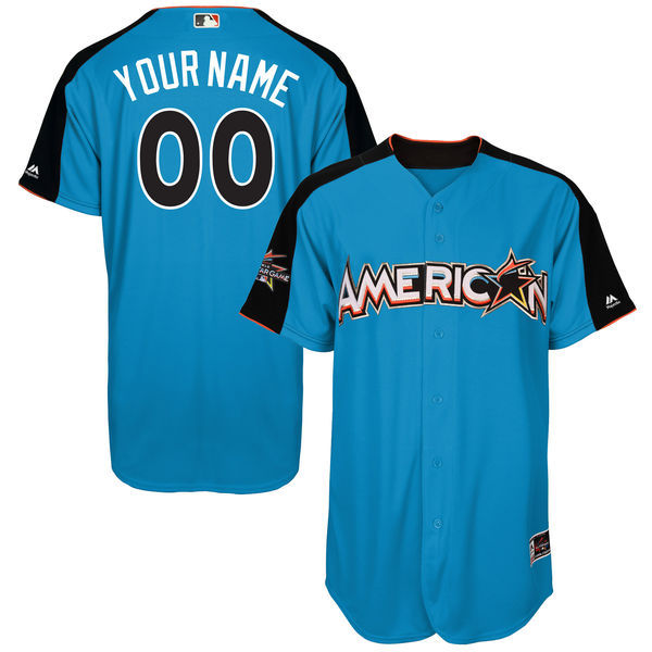 American League Men's 2017 All-Star Game Majestic Customized Jersey