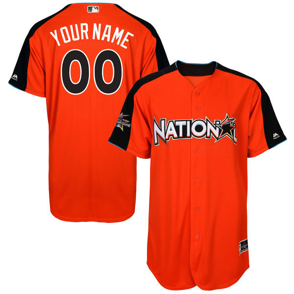 National League Men's 2017 All-Star Game Majestic Customized Jersey