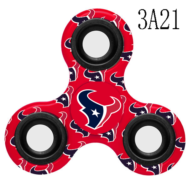 Houston Texans Multi-Logo 3 Way Fidget Spinner