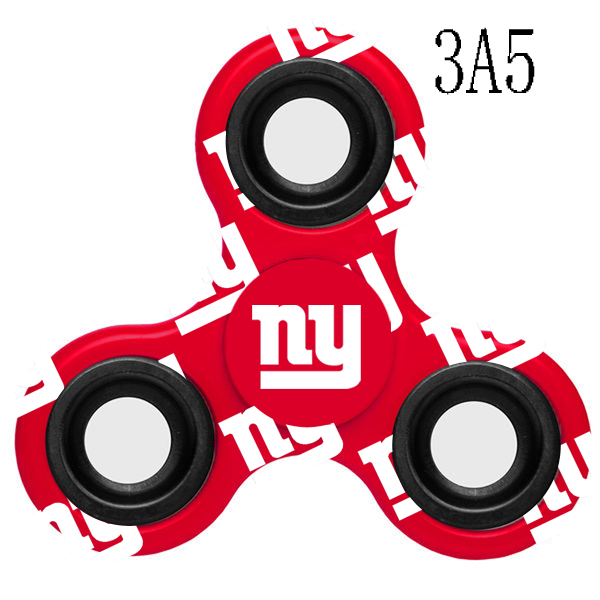 New York Giants Multi-Logo 3 Way Fidget Spinner