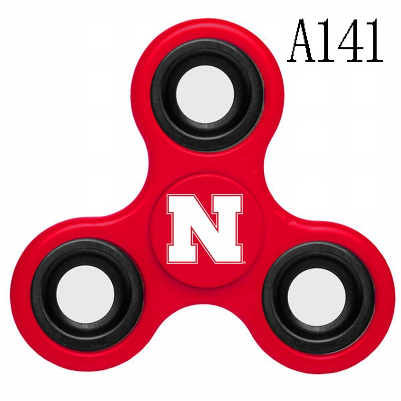 Nebraska Cornhuskers Team Logo Red 3 Way Fidget Spinner