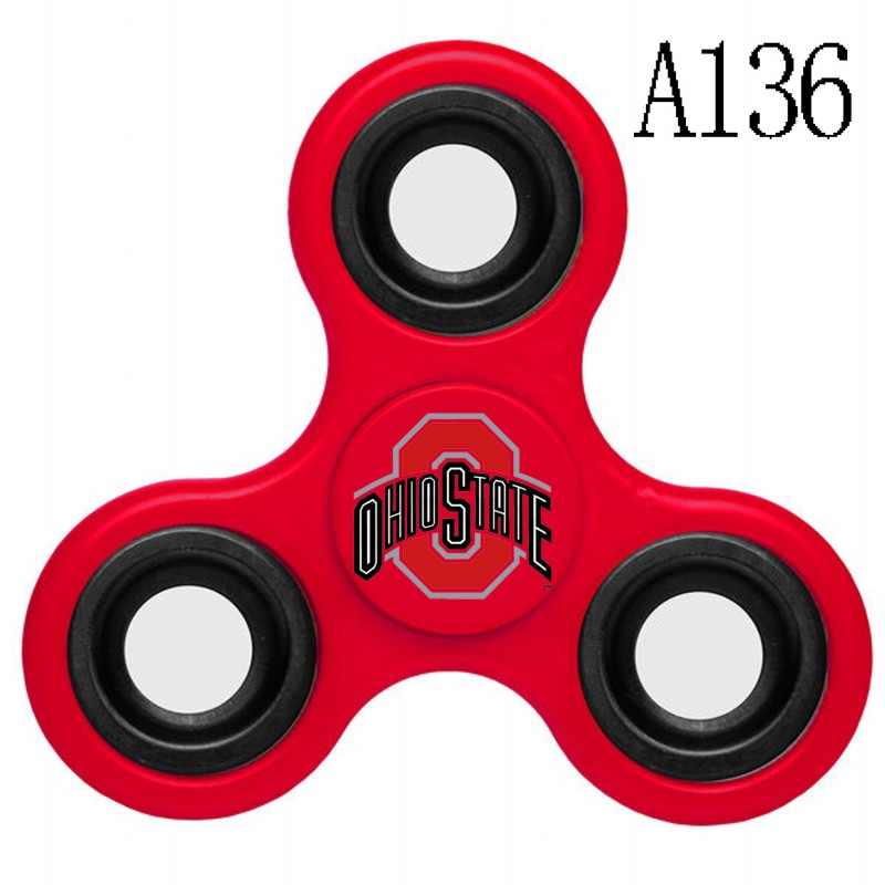 Ohio State Buckeyes Team Logo Red 3 Way Fidget Spinner