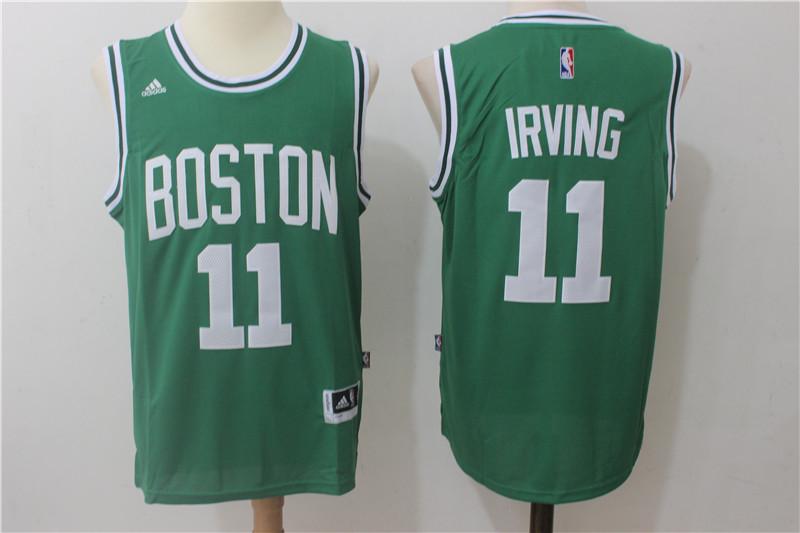 Celtics 11 Kyrie Irving Green Swingman Jersey