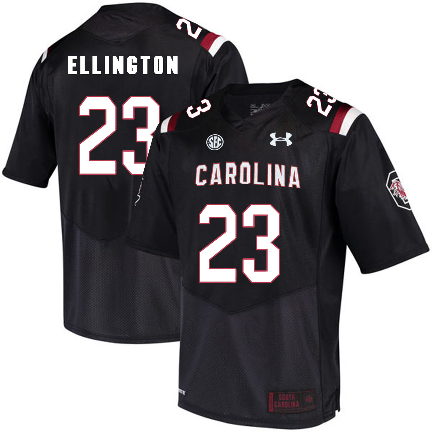 South Carolina Gamecocks 23 Bruce Ellington Black College Football Jersey