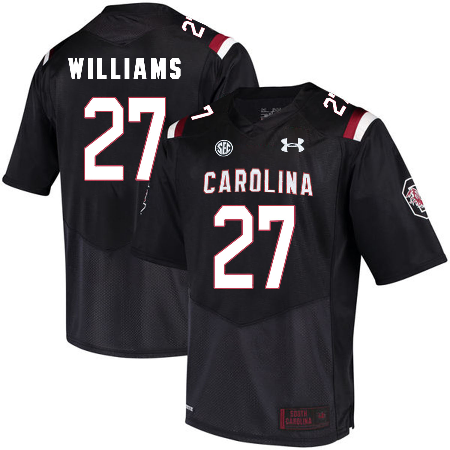 South Carolina Gamecocks 27 Ty'Son Williams Black College Football Jersey
