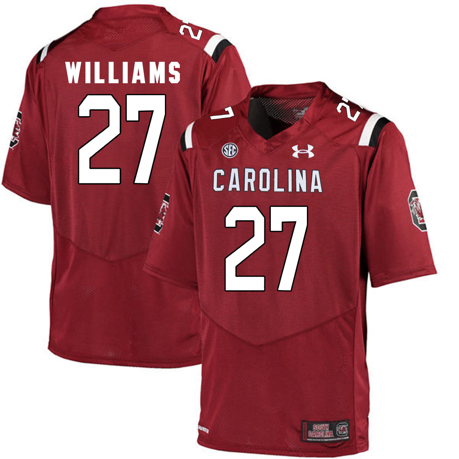 South Carolina Gamecocks 27 Ty'Son Williams Red College Football Jersey