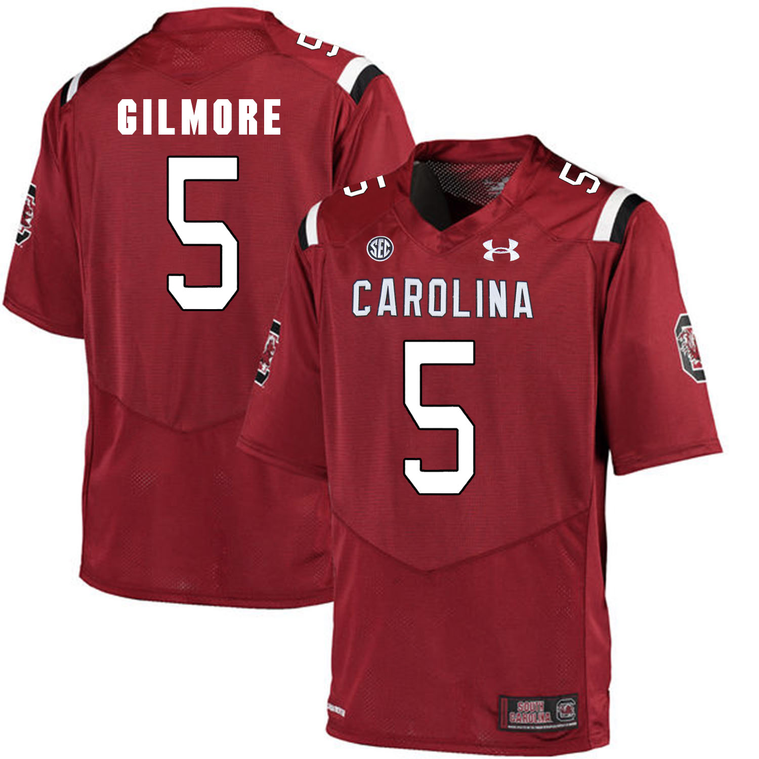 South Carolina Gamecocks 5 Stephon Gilmore Red College Football Jersey