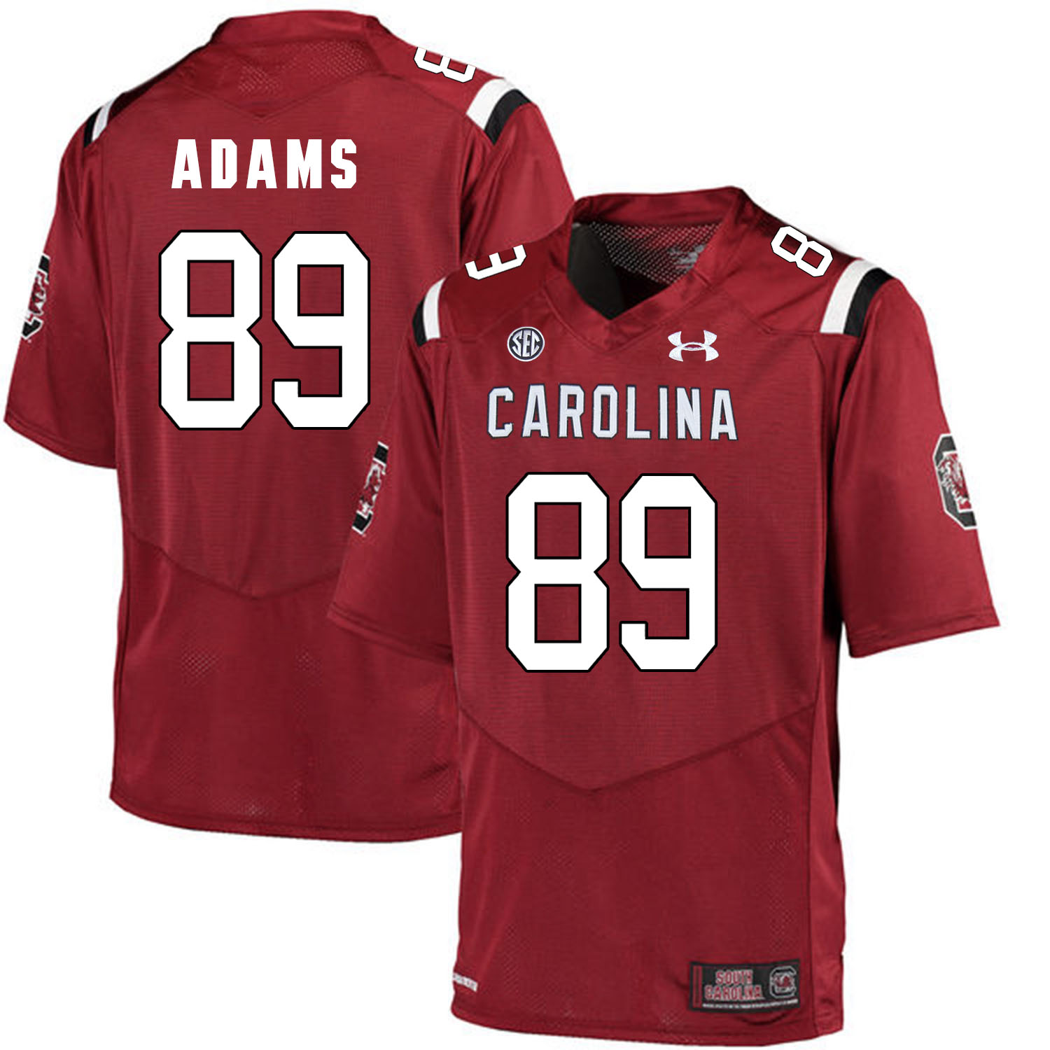 South Carolina Gamecocks 89 Jerell Adams Red College Football Jersey