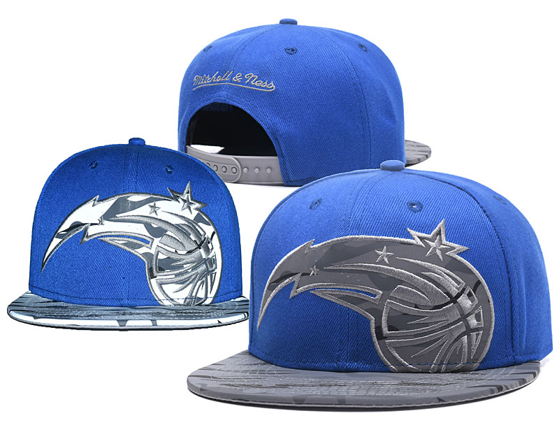 Magic Team Logo Blue Reflective Adjustable Hat GS