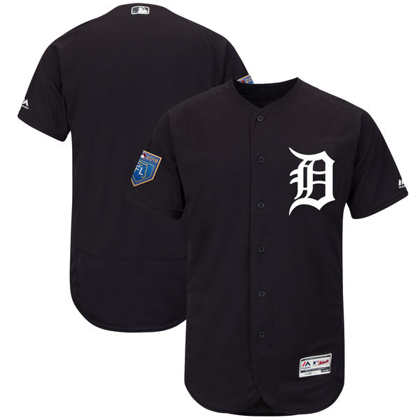 Tigers Blank Navy 2018 Spring Training Flexbase Jersey