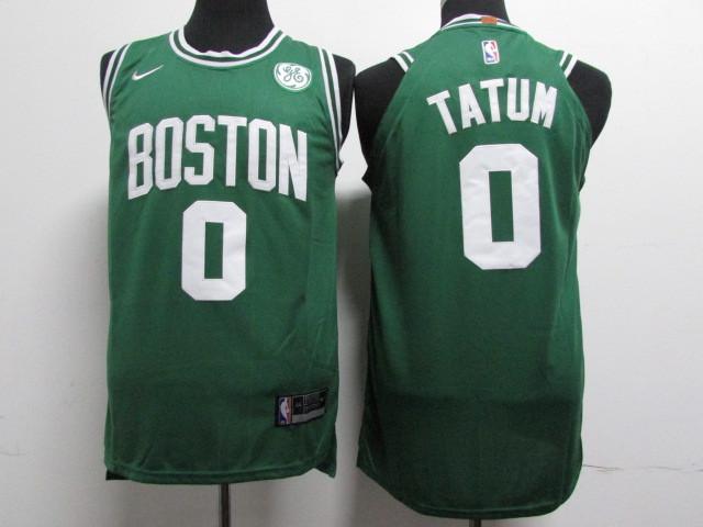 Celtics 0 Jayson Tatum Green Nike Youth Authentic Jersey
