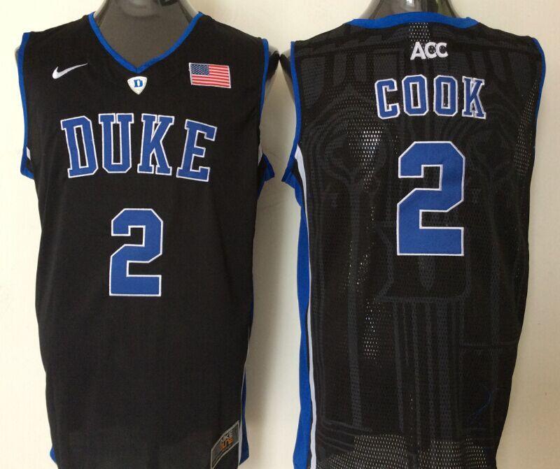 Duke Blue Devils 2 Quinn Cook White College Basketball Jersey