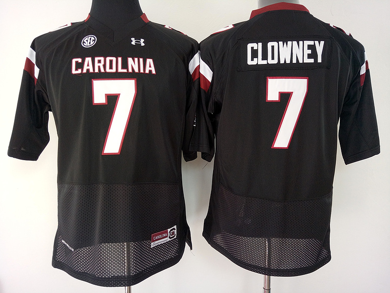 South Carolina Gamecocks 7 Jadeveon Clowney Black College Football Jersey