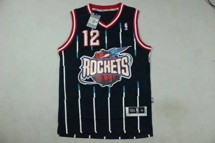 Rockets 12 Dwight Howard Navy Swingman Jersey