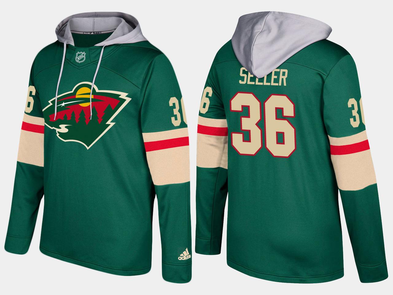 Nike Wild 36 Nick Seeler Name And Number Green Hoodie