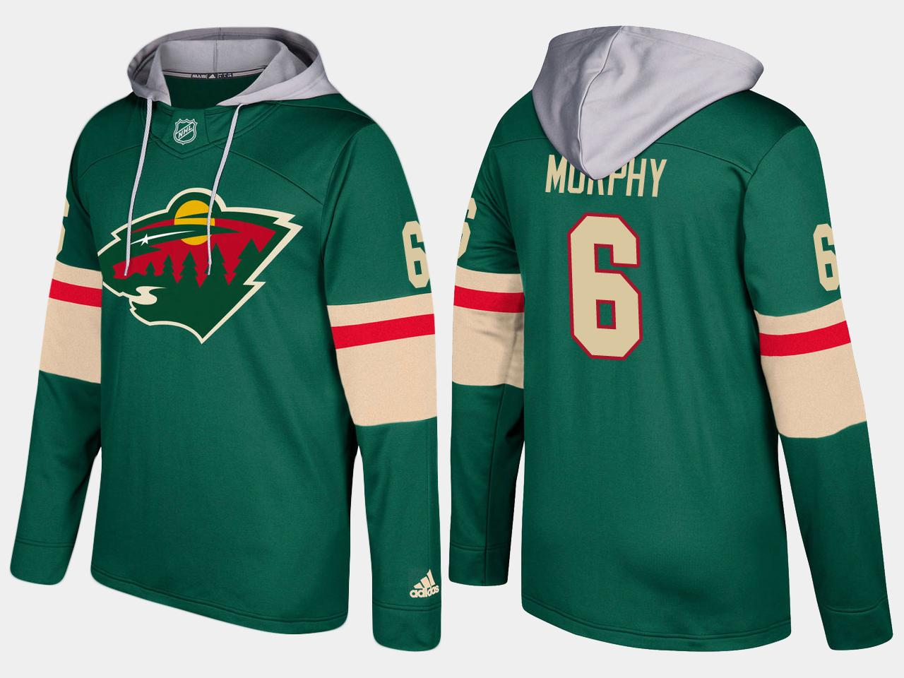 Nike Wild 6 Ryan Murphy Name And Number Green Hoodie