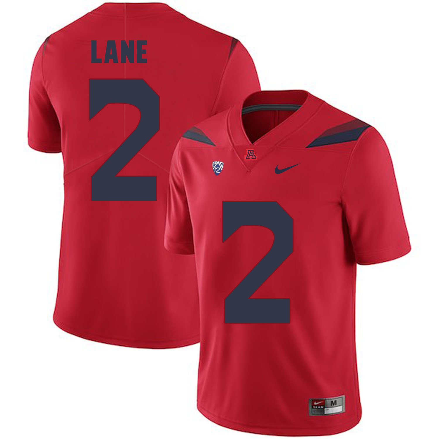 Arizona Wildcats 2 K'Hari Lane Red College Football Jersey