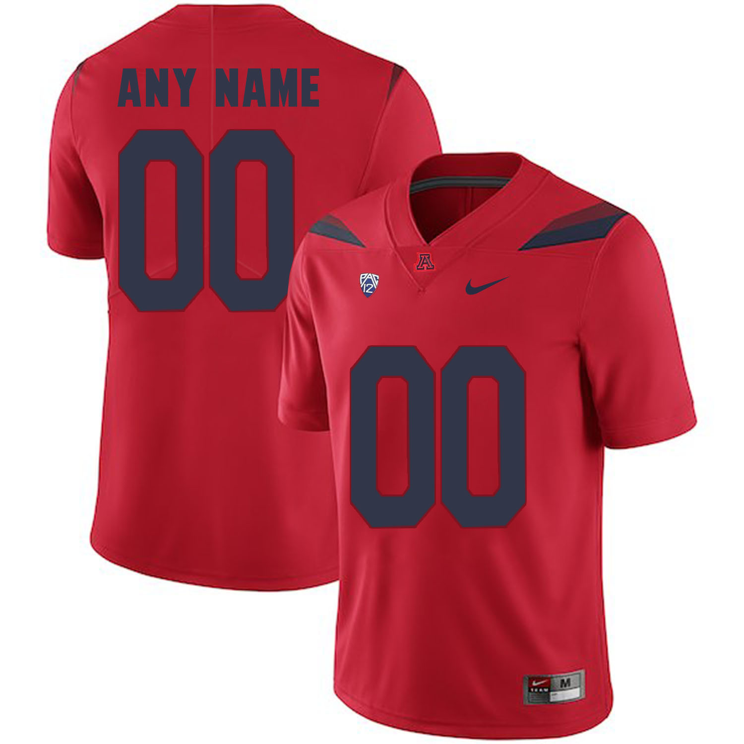 Arizona Wildcats Red Men's Customized College Football Jersey