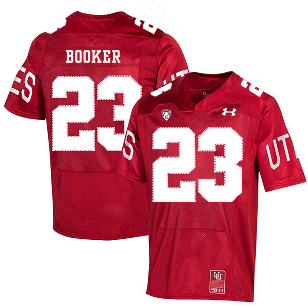 Utah Utes 23 Devontae Booker Red 150th Anniversary College Football Jersey