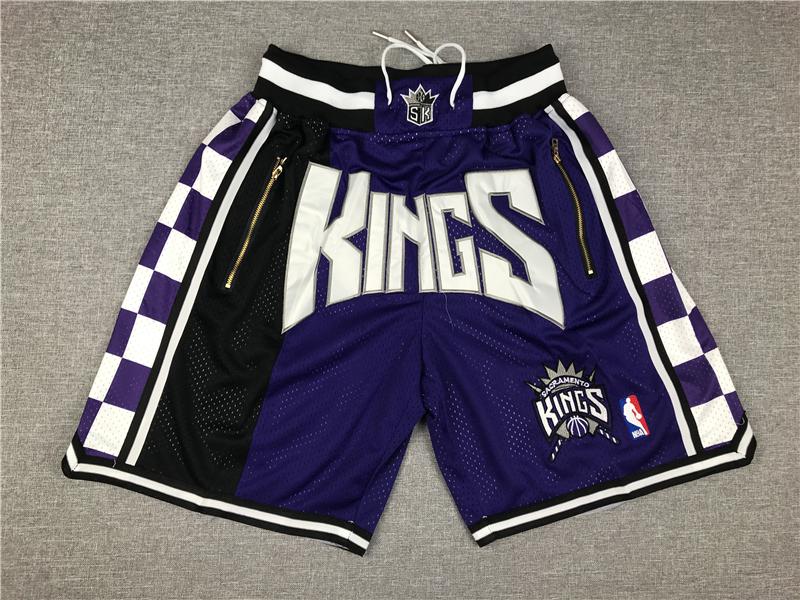 Kings Purple Pockets Swingman Shorts