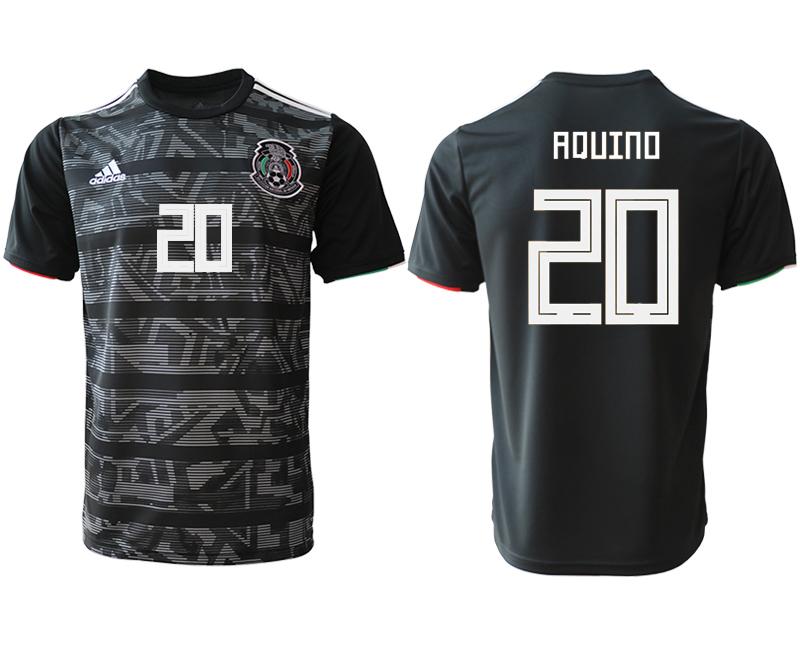 2019-20 Mexico 20 AXUINO Away Thailand Soccer Jersey
