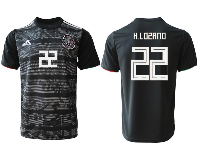 2019-20 Mexico 22 H.LOSANO Away Thailand Soccer Jersey