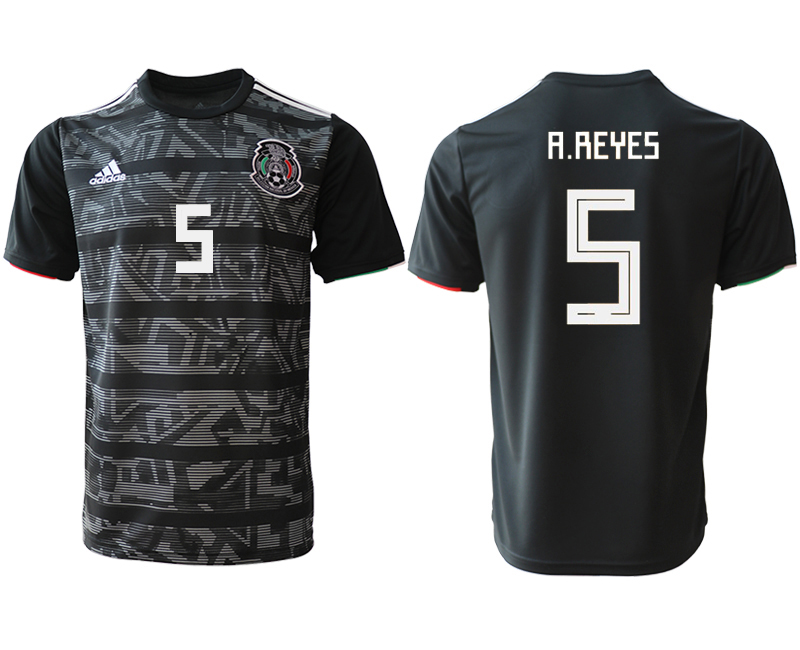 2019-20 Mexico 5 A.REYES Away Thailand Soccer Jersey