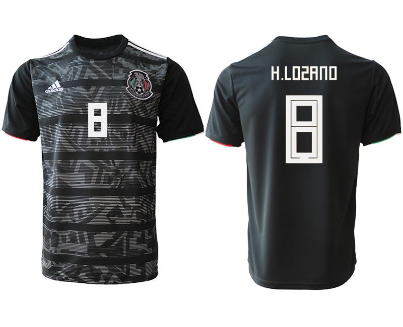 2019-20 Mexico 8 H.LOSANO Away Thailand Soccer Jersey