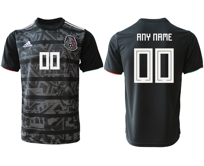 2019-20 Mexico Customized Away Thailand Soccer Jersey