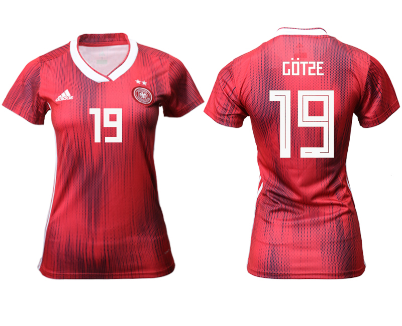 2019-20 Germany 19 COTSE Away Women Soccer Jersey
