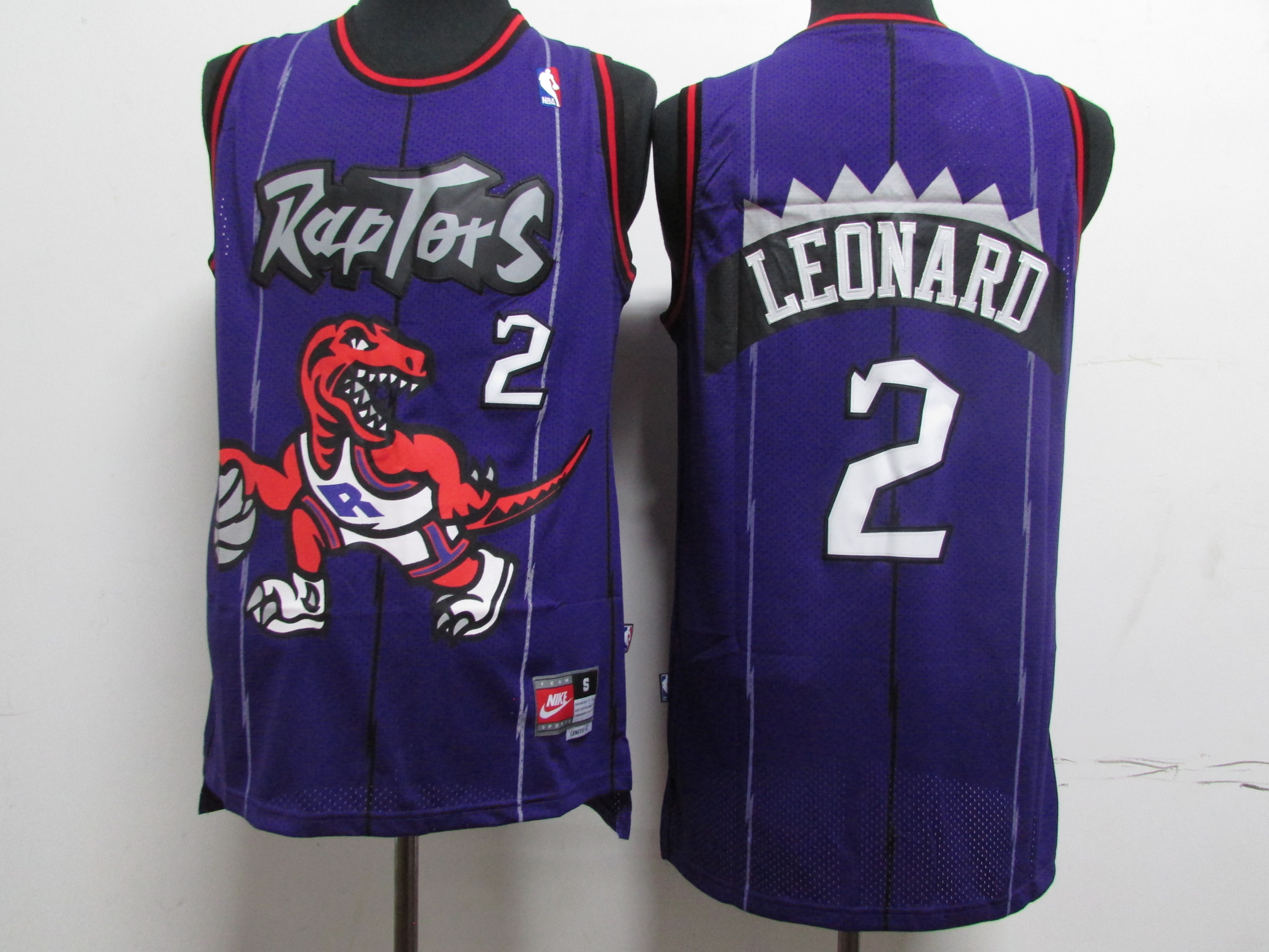 Raptors 2 Kawhi Leonard Purple Nike Swingman Jersey