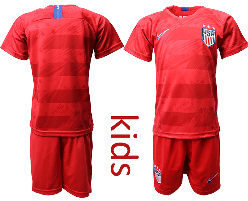 2019-20 USA Away Youth Soccer Jersey