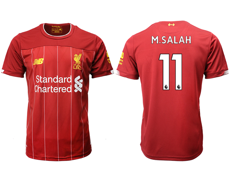 2019-20 Liverpool 11 M.SALAH Home Thailand Soccer Jersey