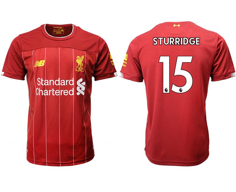 2019-20 Liverpool 15 STURRIDGE Home Thailand Soccer Jersey