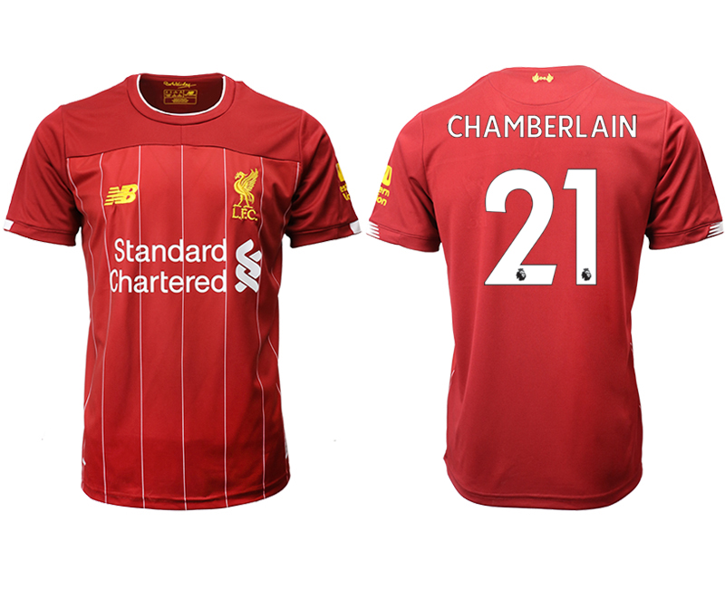 2019-20 Liverpool 21 CHAMBERLAIN Home Thailand Soccer Jersey