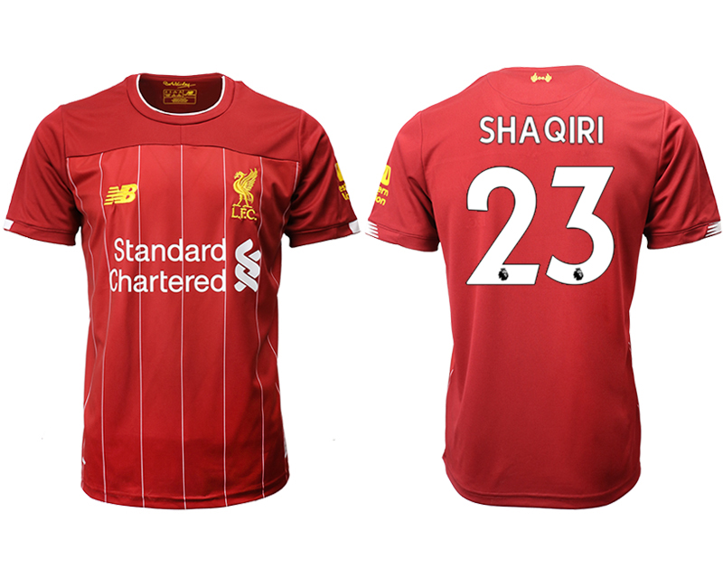 2019-20 Liverpool 23 SHAQIRI Home Thailand Soccer Jersey
