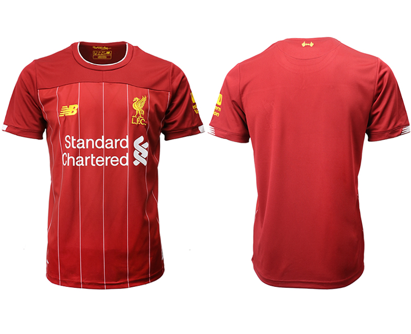 2019-20 Liverpool Home Thailand Soccer Jersey