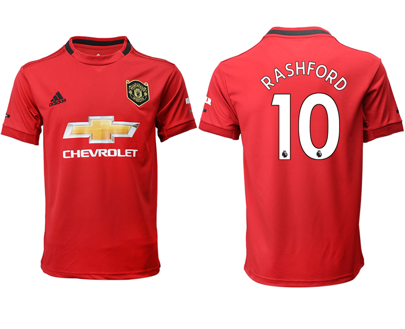 2019-20 Manchester United 10 RASHFORD Home Thailand Soccer Jersey
