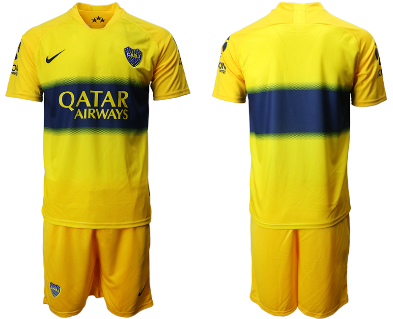 2019-20 Boca Juniors Away Soccer Jersey