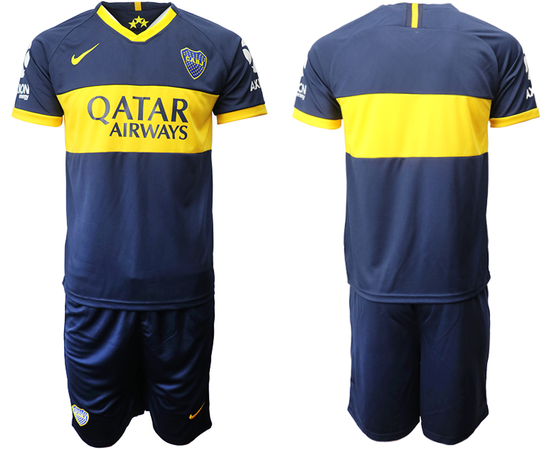 2019-20 Boca Juniors Home Soccer Jersey