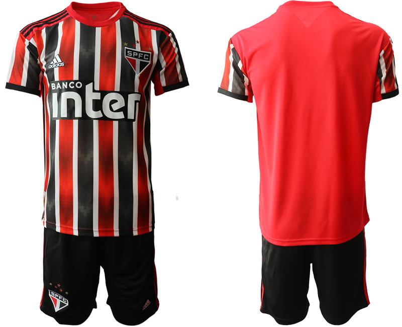 2019-20 Sao Paulo FC Away Soccer Jersey