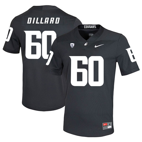 Washington State Cougars 60 Andre Dillard Black College Football Jersey
