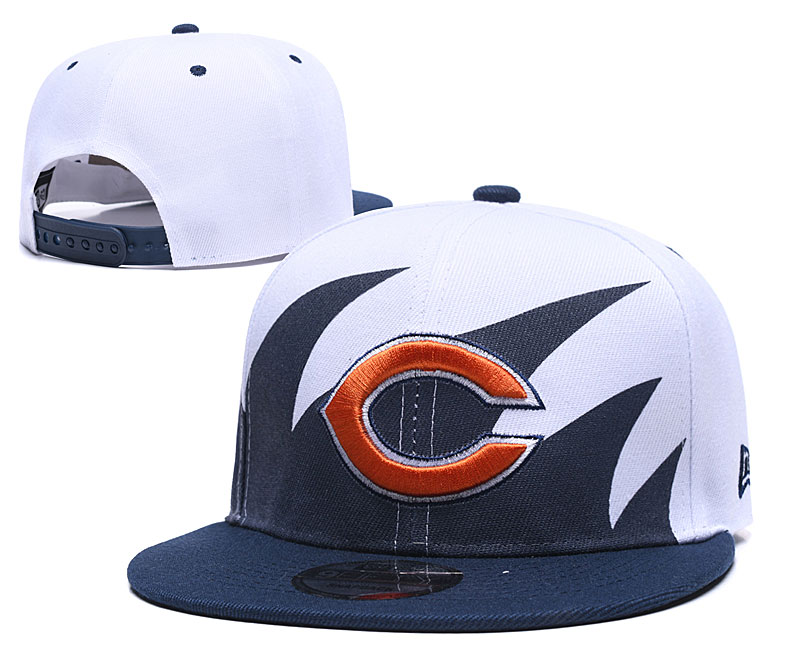 Bears Fresh Logo White Navy Adjustable Hat GS