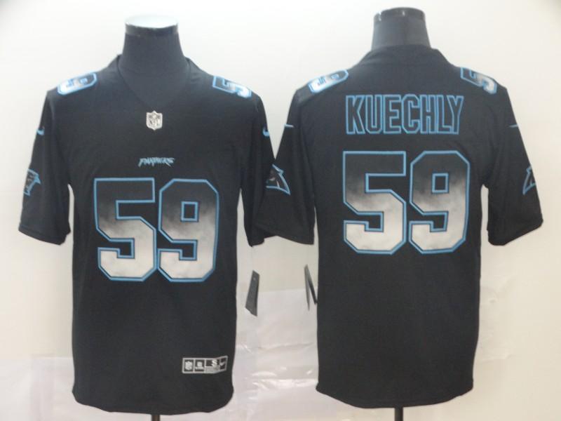 Nike Panthers 59 Luke Kuechly Black Arch Smoke Vapor Untouchable Limited Jersey