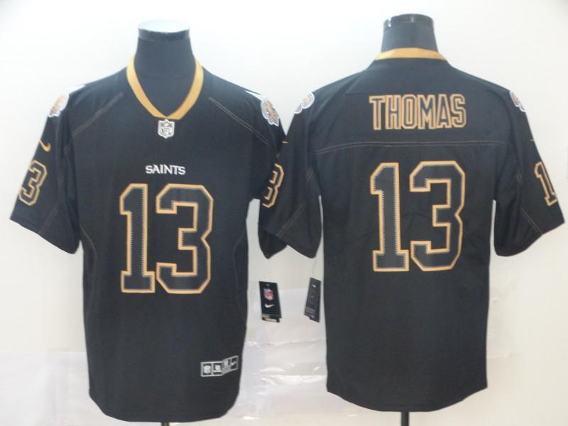 Nike Saints 13 Michael Thomas Black Shadow Legend Limited Jersey