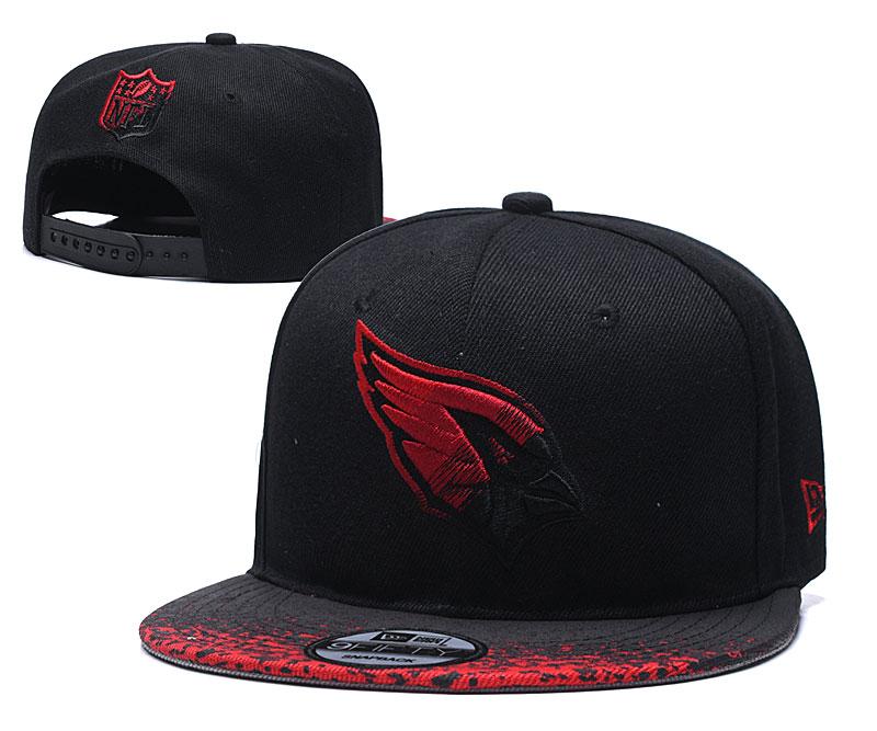 Arizona Cardinals Team Logo Black Adjustable Hat YD
