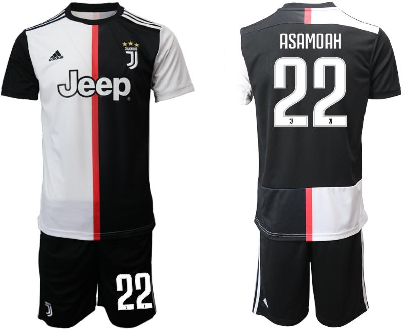 2019-20 Juventus FC 22 ASAMOAH Home Soccer Jersey