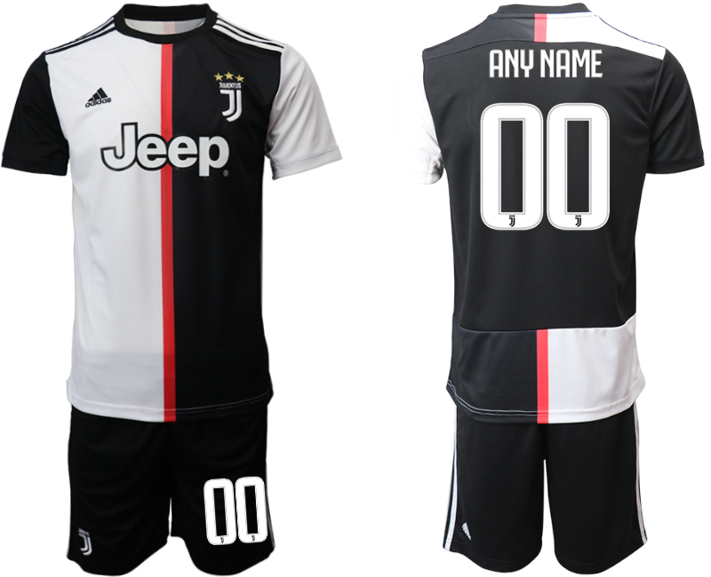 2019-20 Juventus FC Customized Home Soccer Jersey