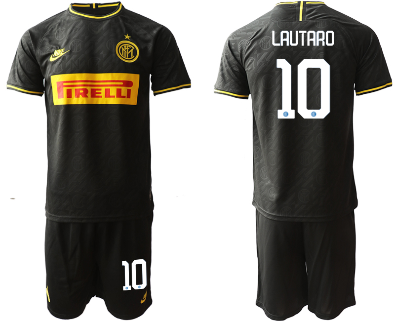 2019-20 Inter Milan 10 LAUTARO Third Away Soccer Jersey