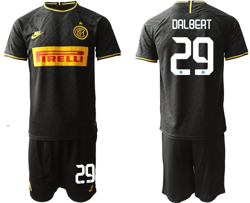 2019-20 Inter Milan 29 DALBERT Third Away Soccer Jersey